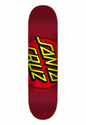 """Shape Santa Cruz Big Dot Red - 7.9"""" / 8.25"""" / 8.5"""""""