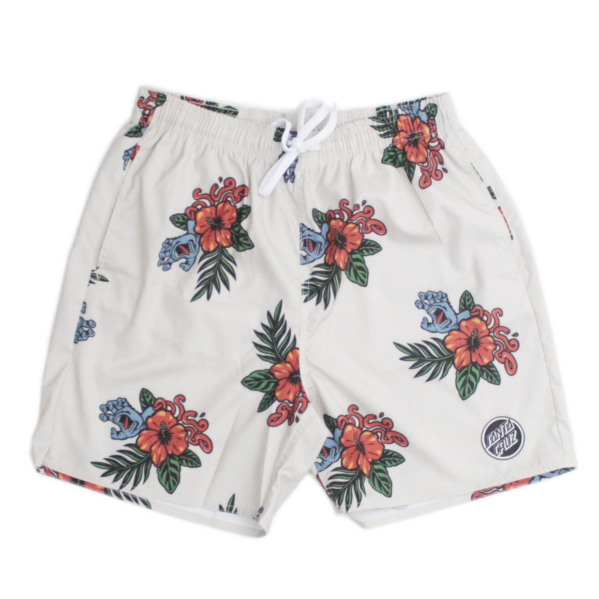 Bermuda Short Vacation Hand Pattern Areia
