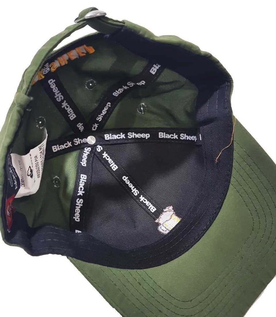 Boné Black Sheep Dad Hat Beer Green