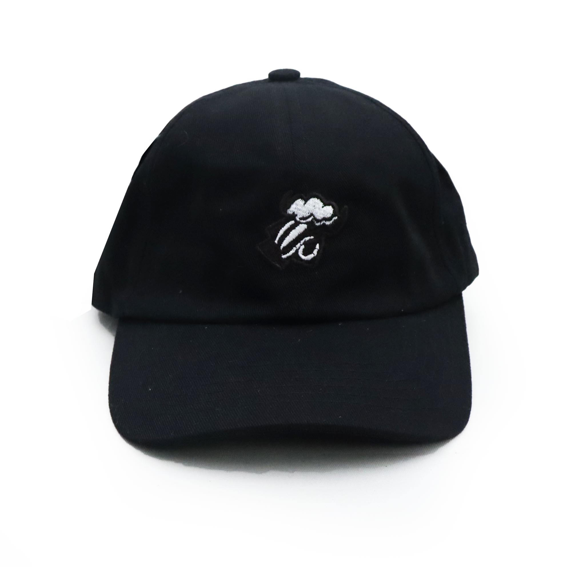 Boné Black Sheep Dad Hat Logo - Preto