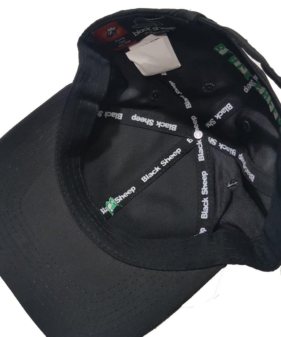 Boné Black Sheep Dad Hat Mini B Black
