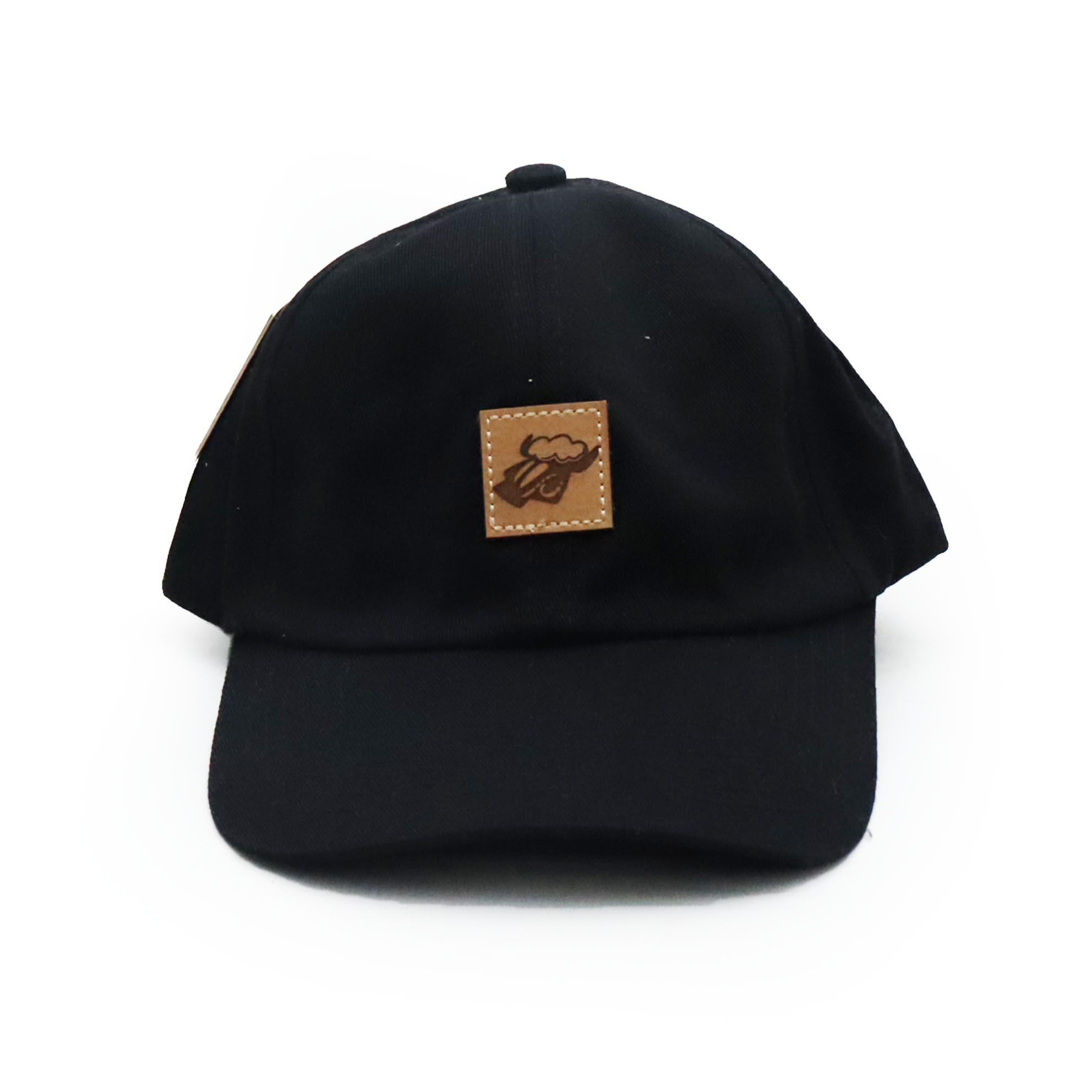 Boné Black Sheep Dad Hat Square Logo Patch - Preto