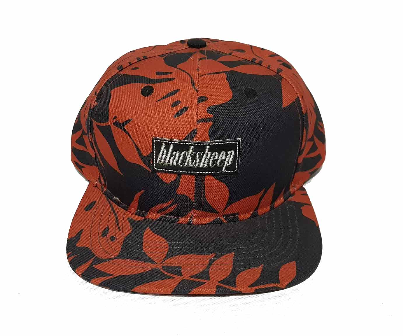 Boné Black Sheep Snapback Hawaii Laranja