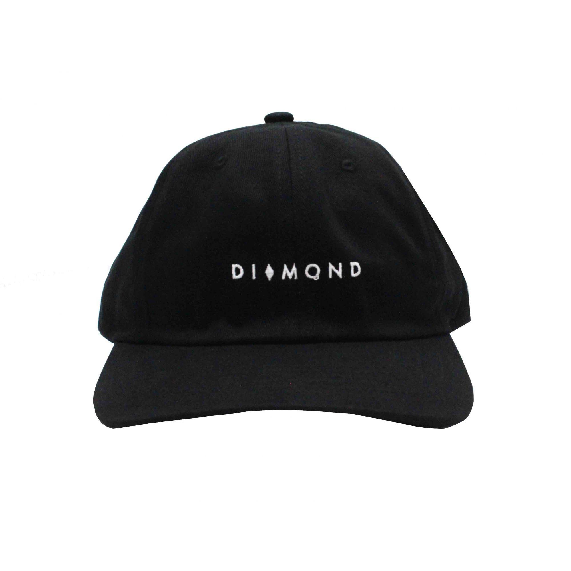 Boné Diamond Dad Hat Marquise Sports Preto