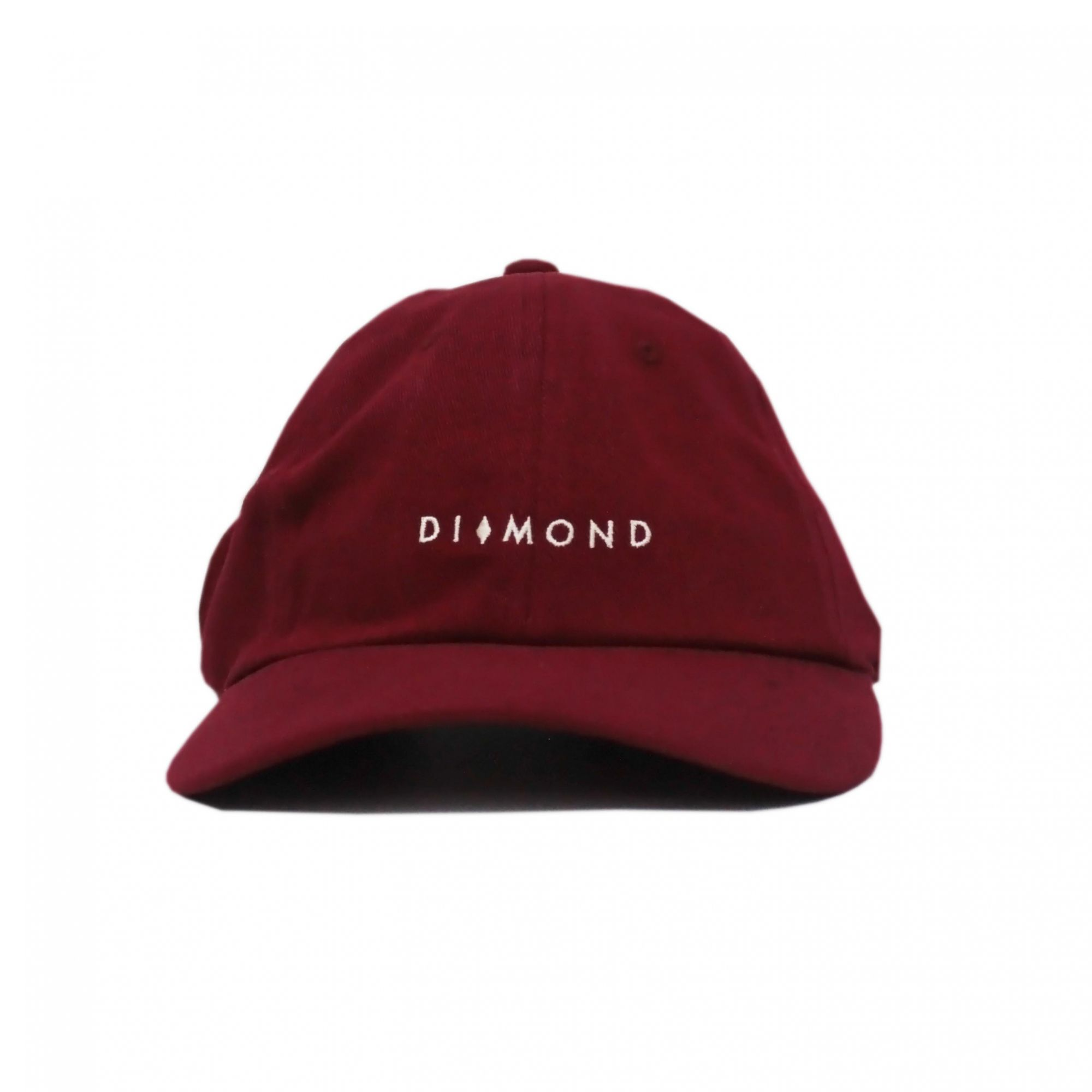 Boné Diamond Dad Hat Marquise Sports Vinho