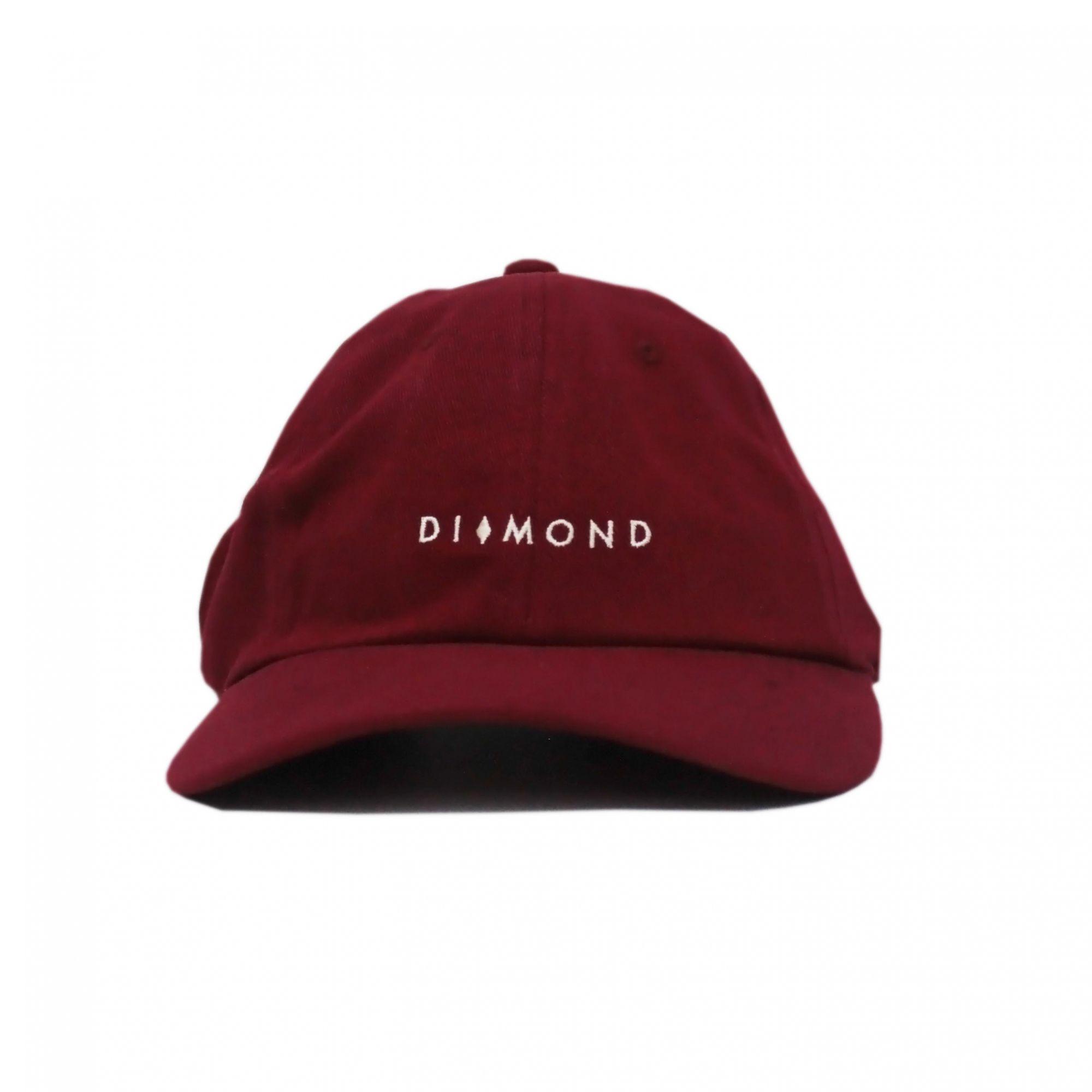 Boné Diamond Dad Hat Marquise Sports - Vinho