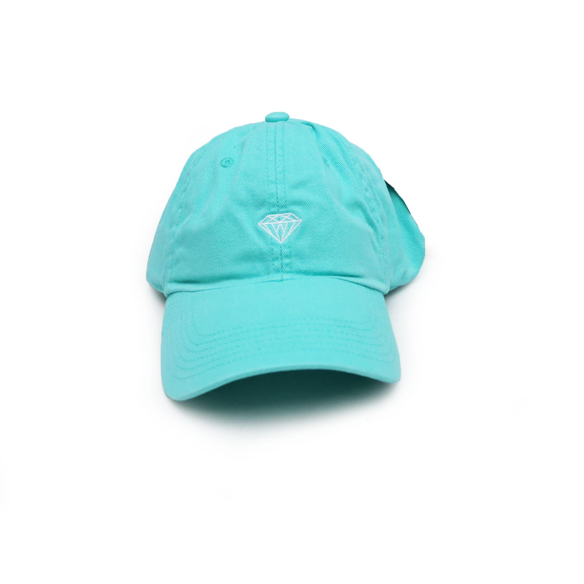 Boné Diamond Dad Hat Micro Brilliant - Verde Água