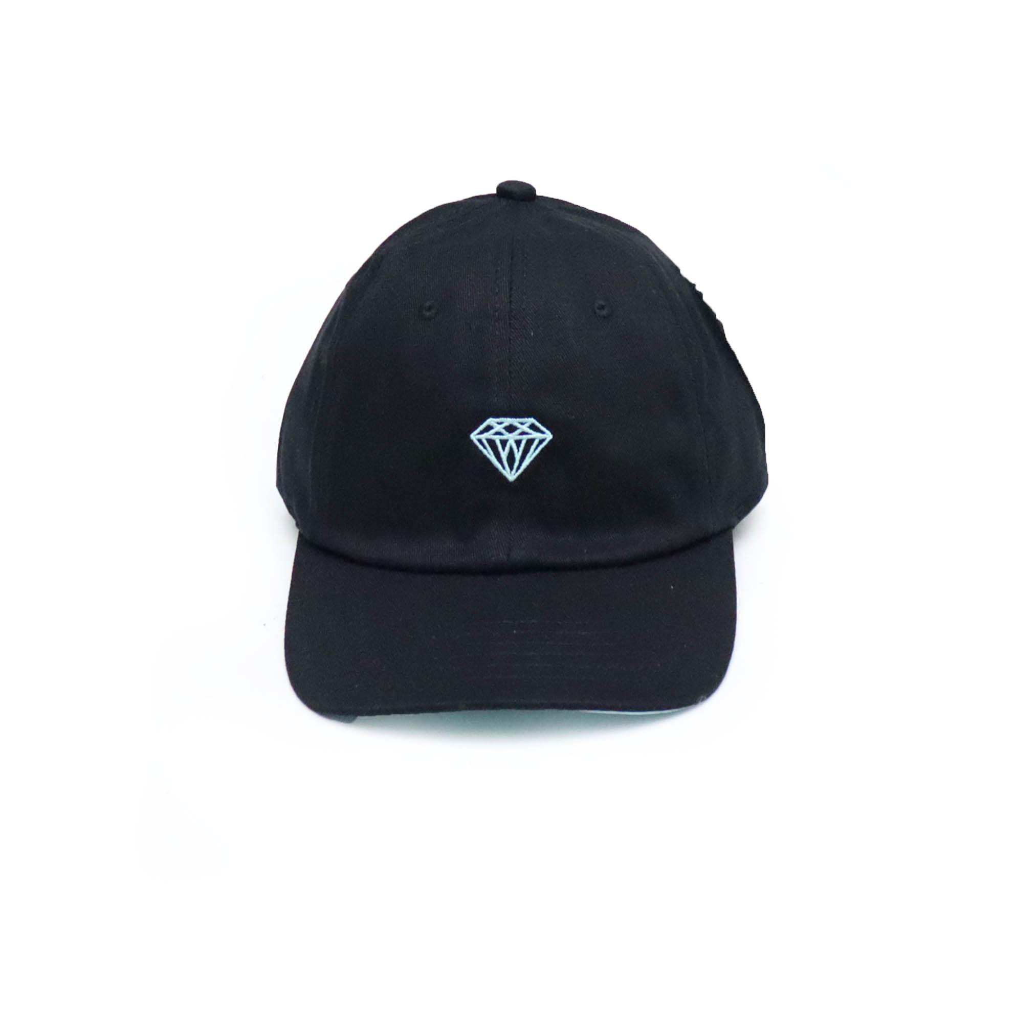 Boné Diamond Dad Hat WLL x DMND - Preto/Verde