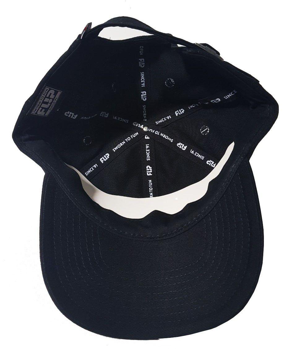 Boné Flip Dad Hat HKD Preto