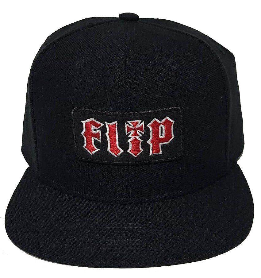 Boné Flip Snapback Classic HKD Preto