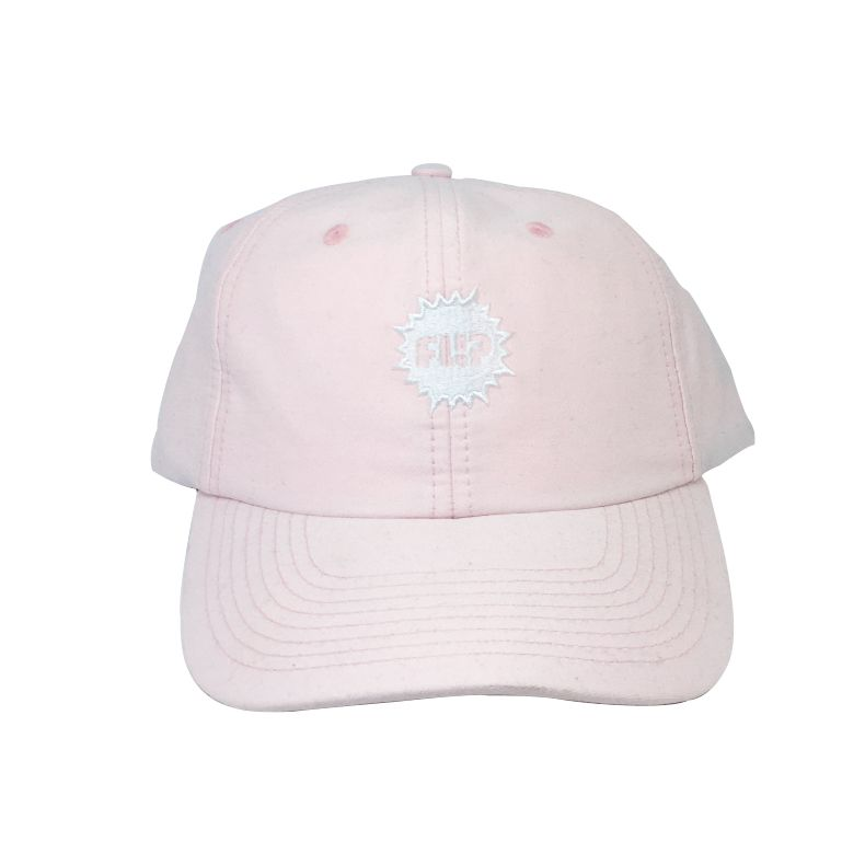 Boné Flip Splash Dad Hat Rosa