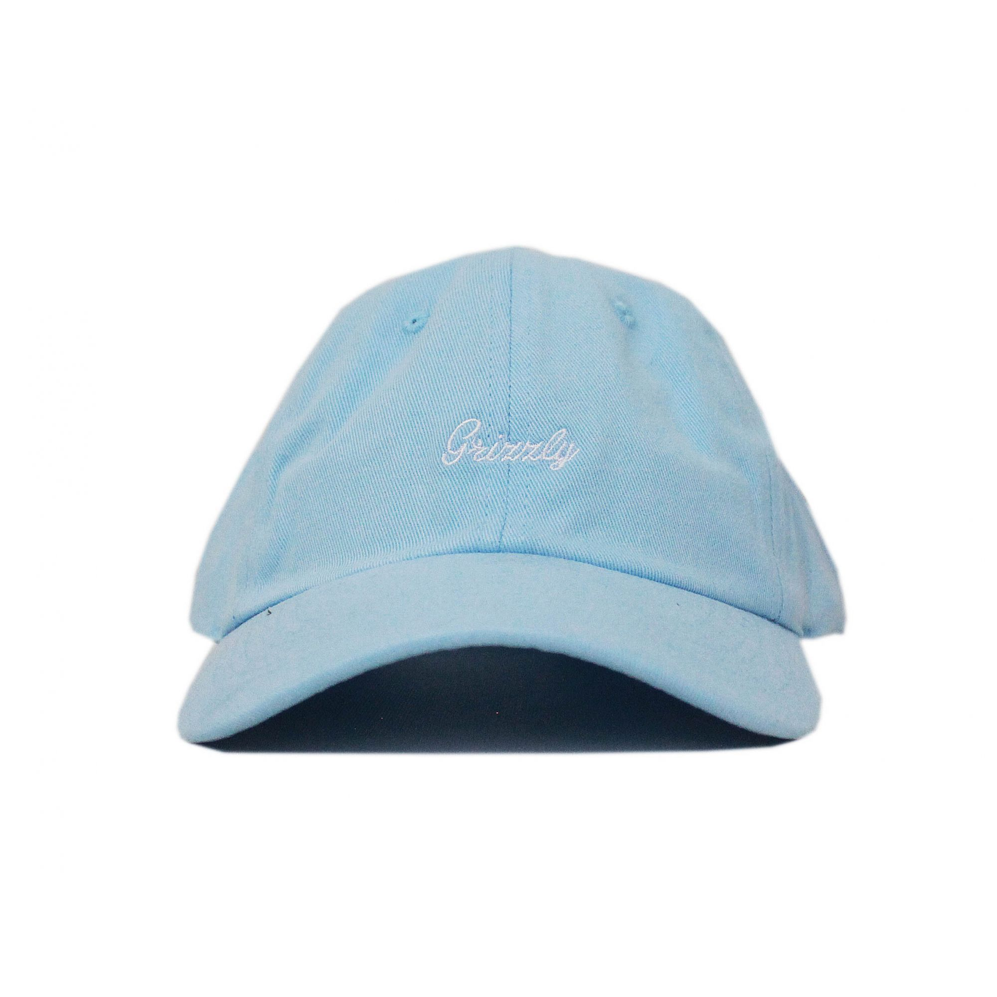 Boné Grizzly Dad Hat Late To The Game - Azul Bebê