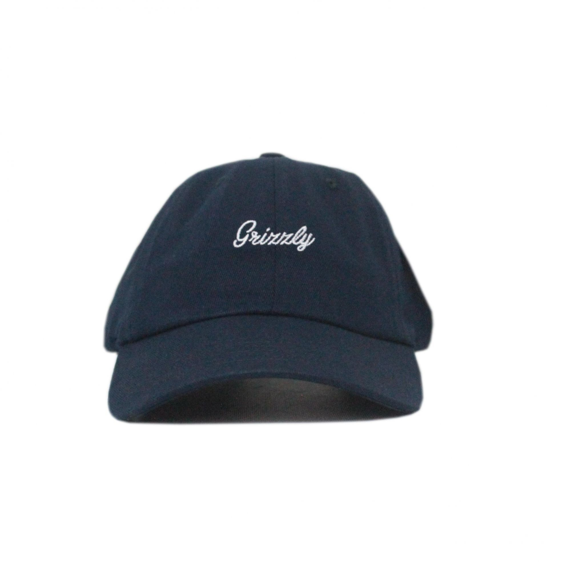 Boné Grizzly Dad Hat Late To The Game - Azul Marinho