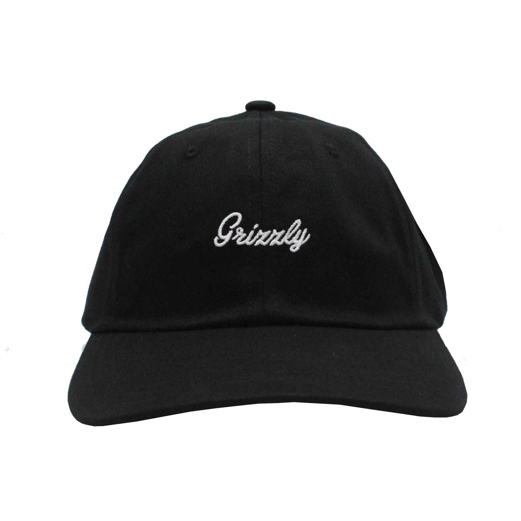 Boné Grizzly Dad Hat Late To The Game - Preto