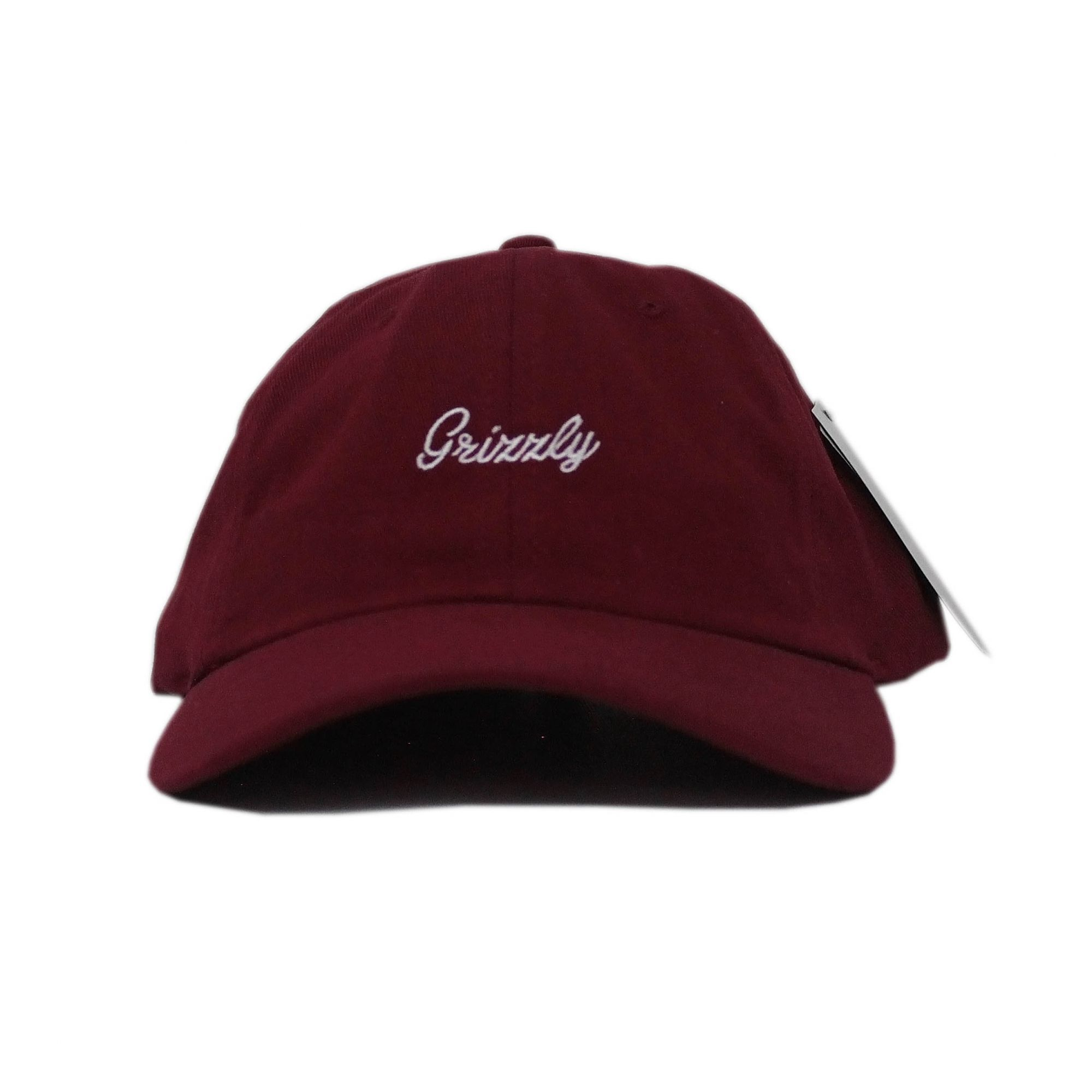Boné Grizzly Dad Hat Late To The Game - Vinho