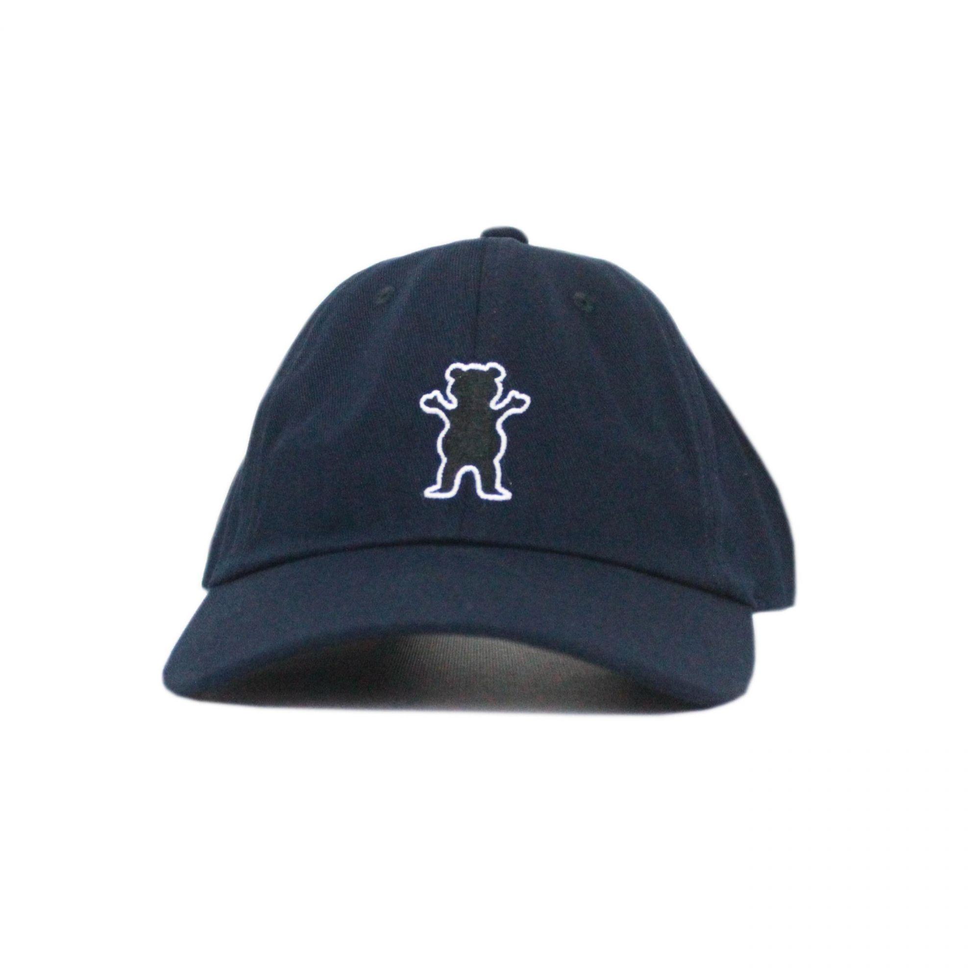 Boné Grizzly Dad Hat OG Bear Azul Marinho
