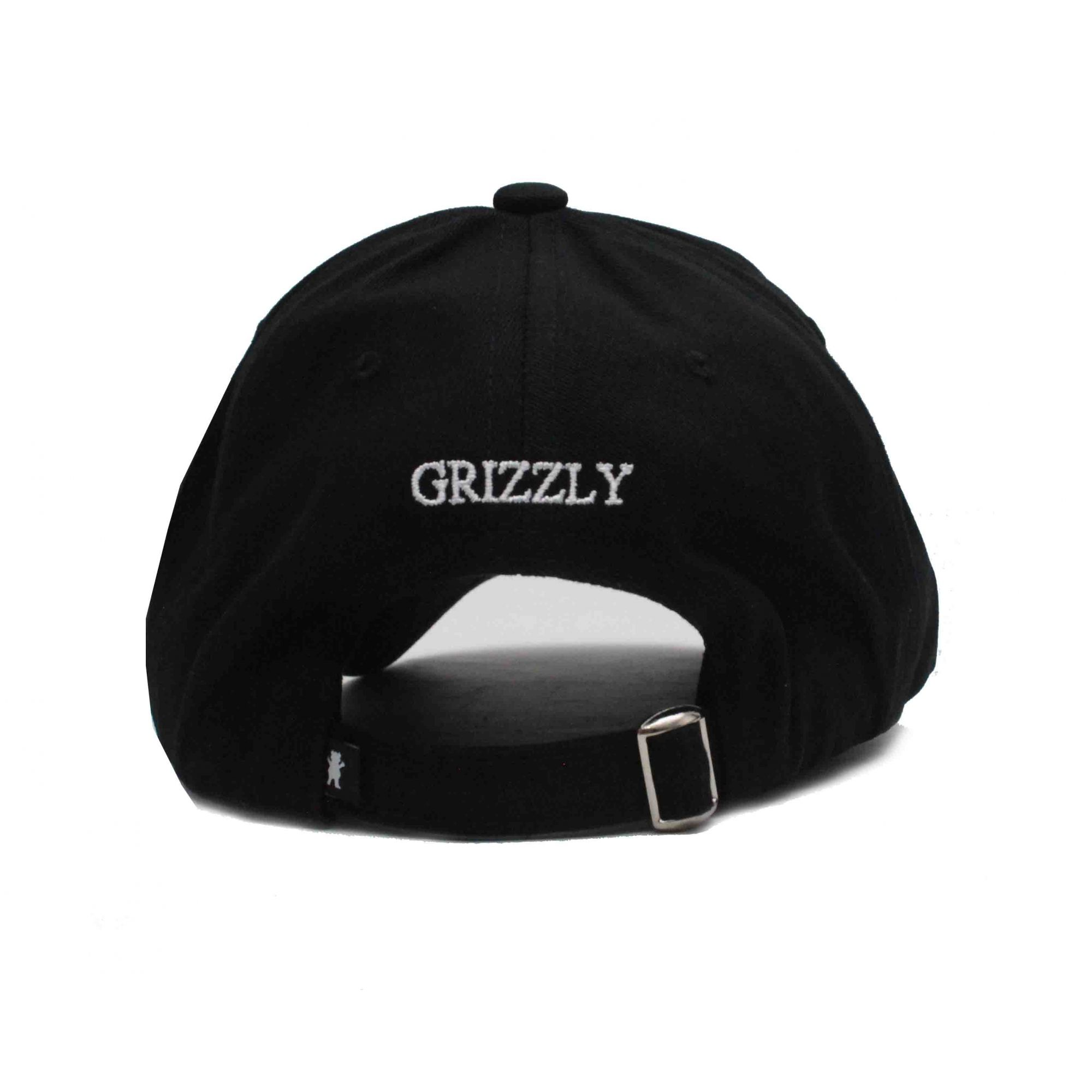 Boné Grizzly Dad Hat OG Bear Black