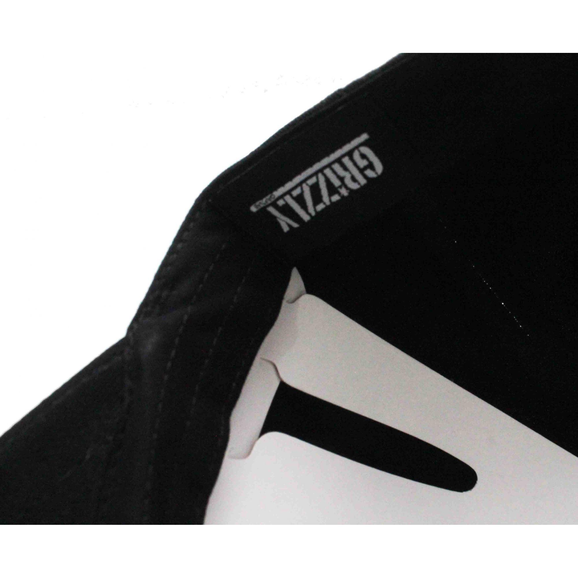 Boné Grizzly Dad Hat OG Bear Logo Colors Black
