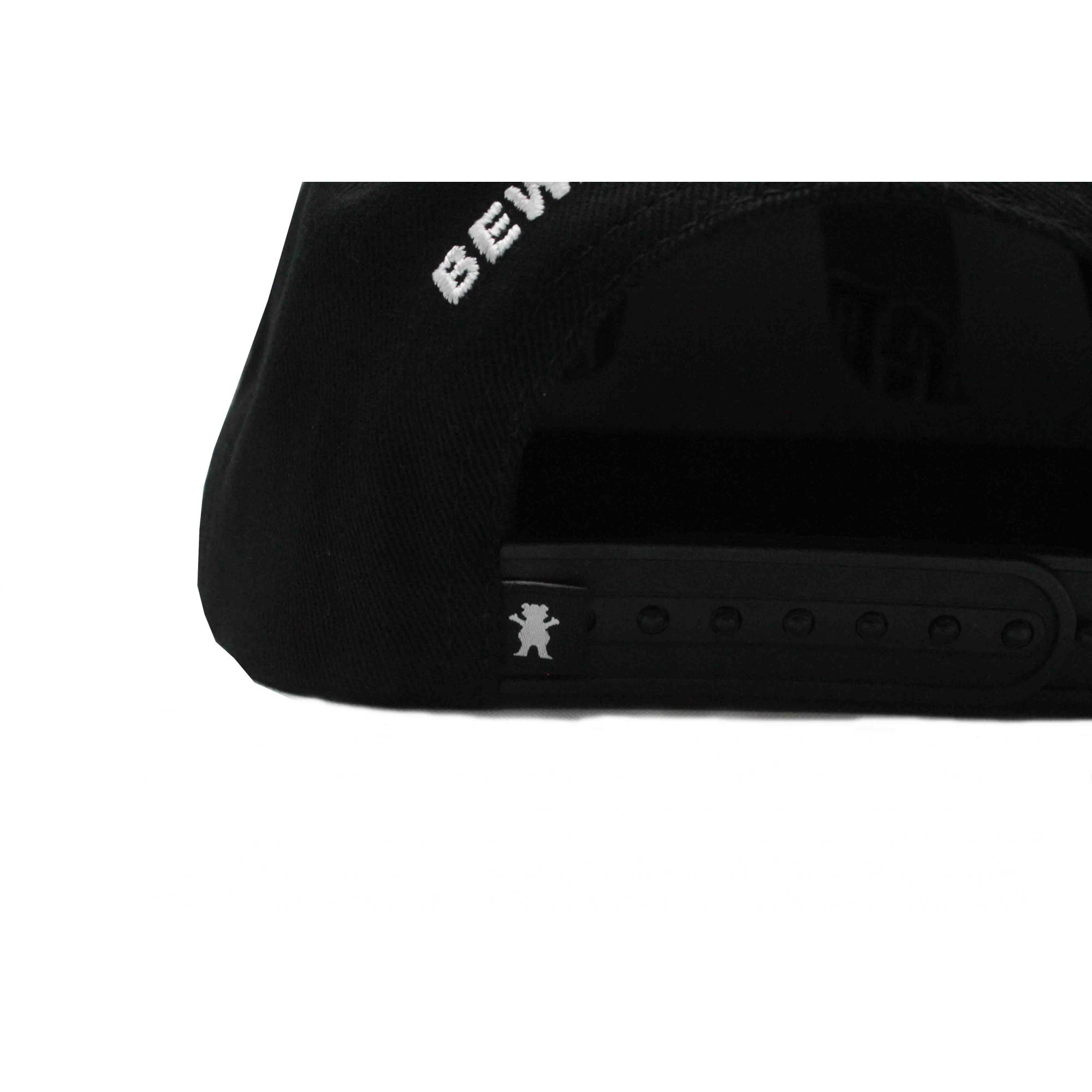 Boné Grizzly Snapback Top Team Black