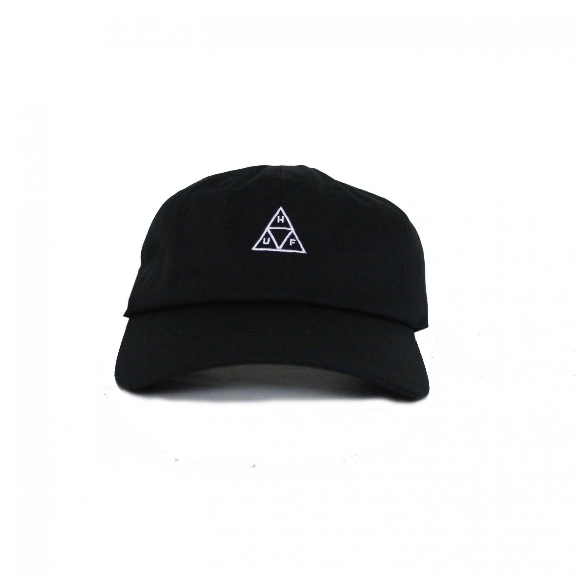 Boné HUF Dad Hat Og Logo Preto (Importado)