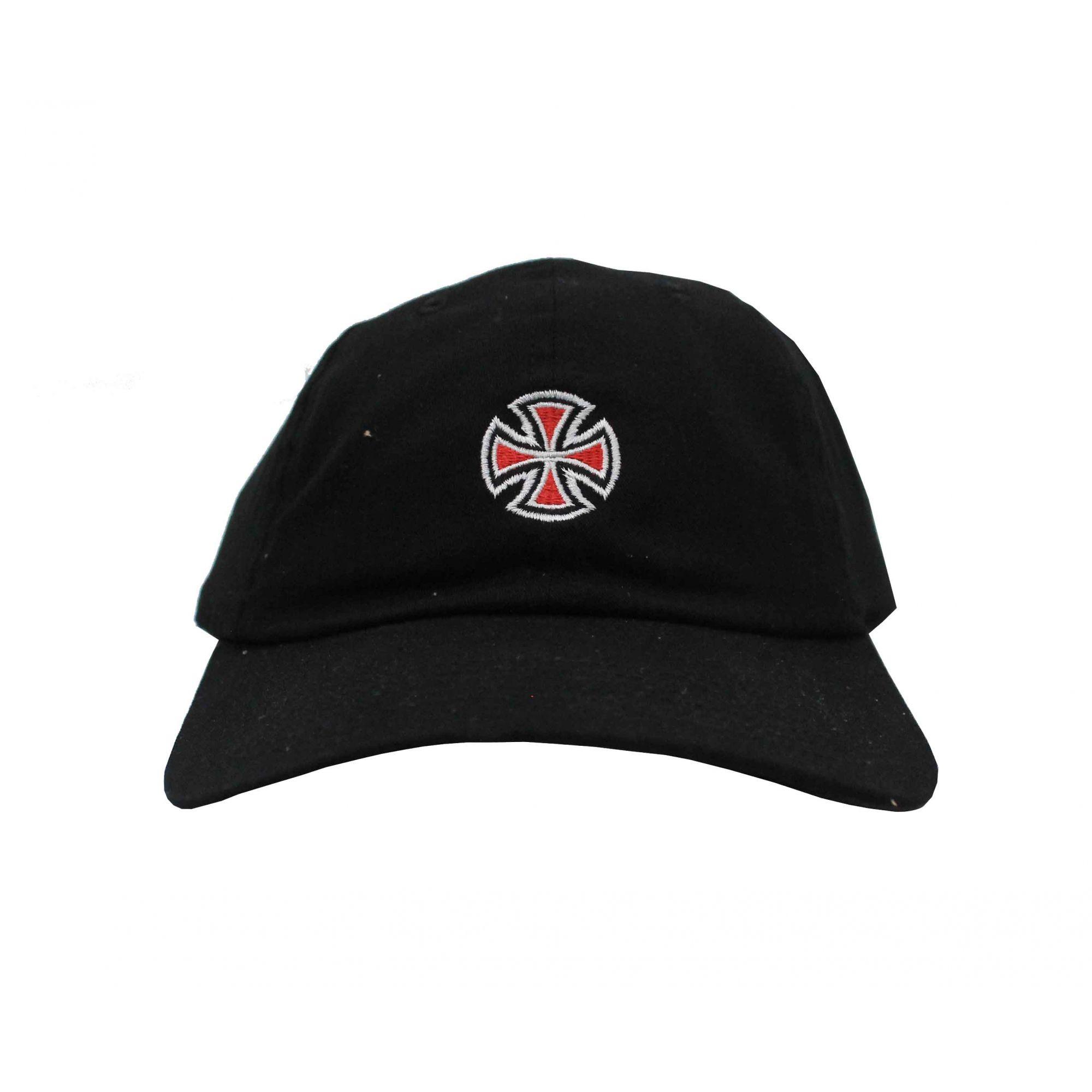 Boné Independent Dad Hat Cross Black