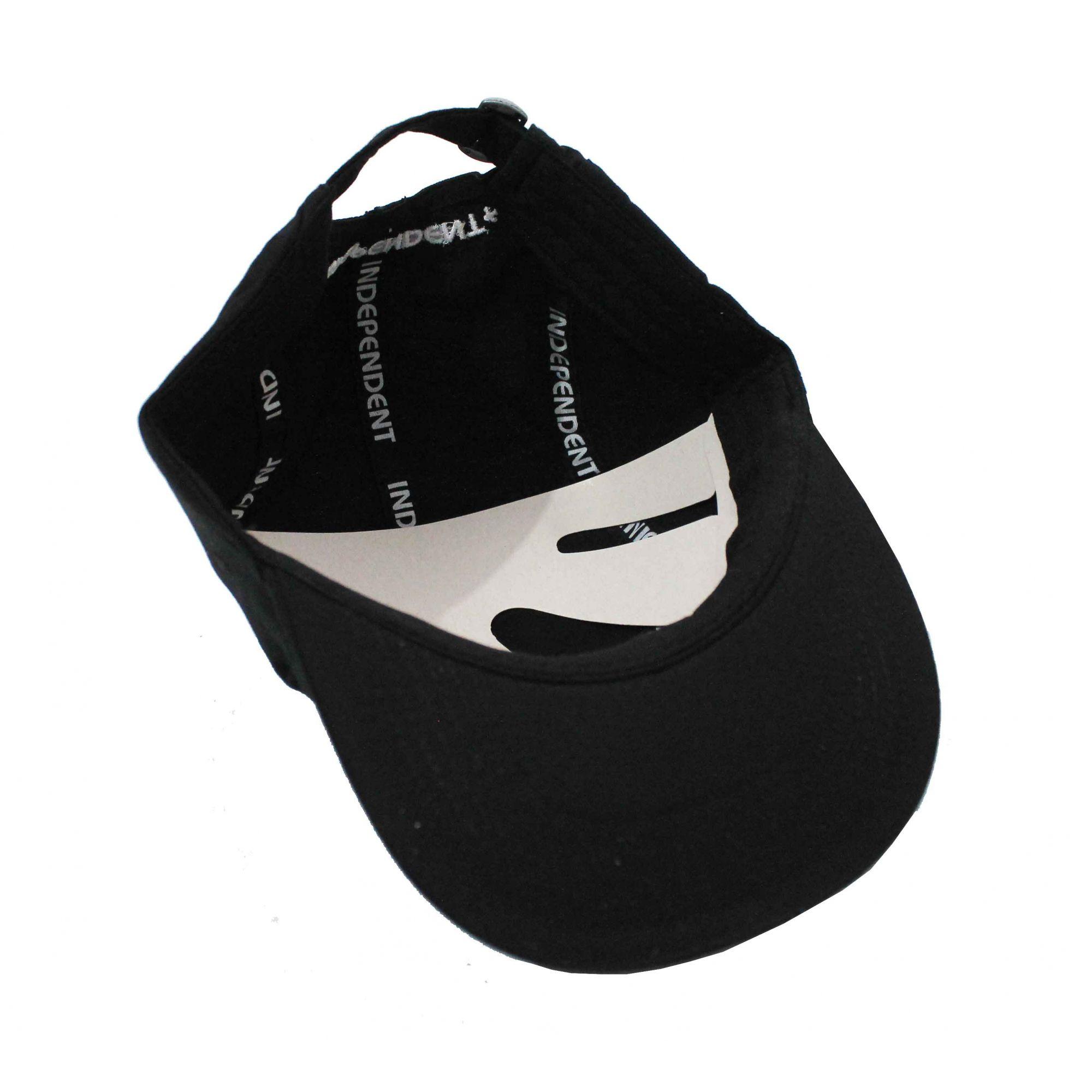 4a055202d01 ... Boné Independent Dad Hat Cross Black - Steezy ...
