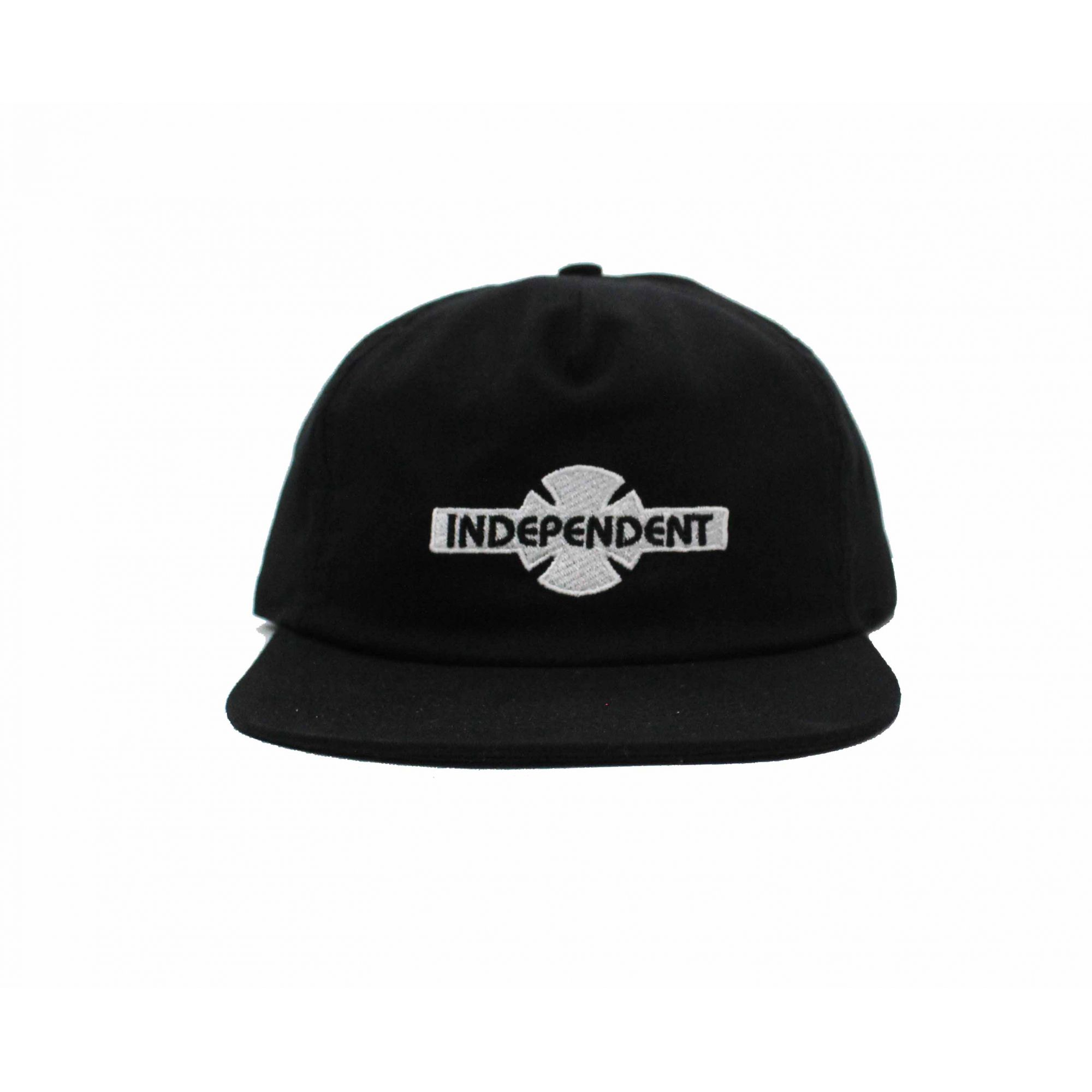Boné Independent Snapback OGBC Unconstructed Black