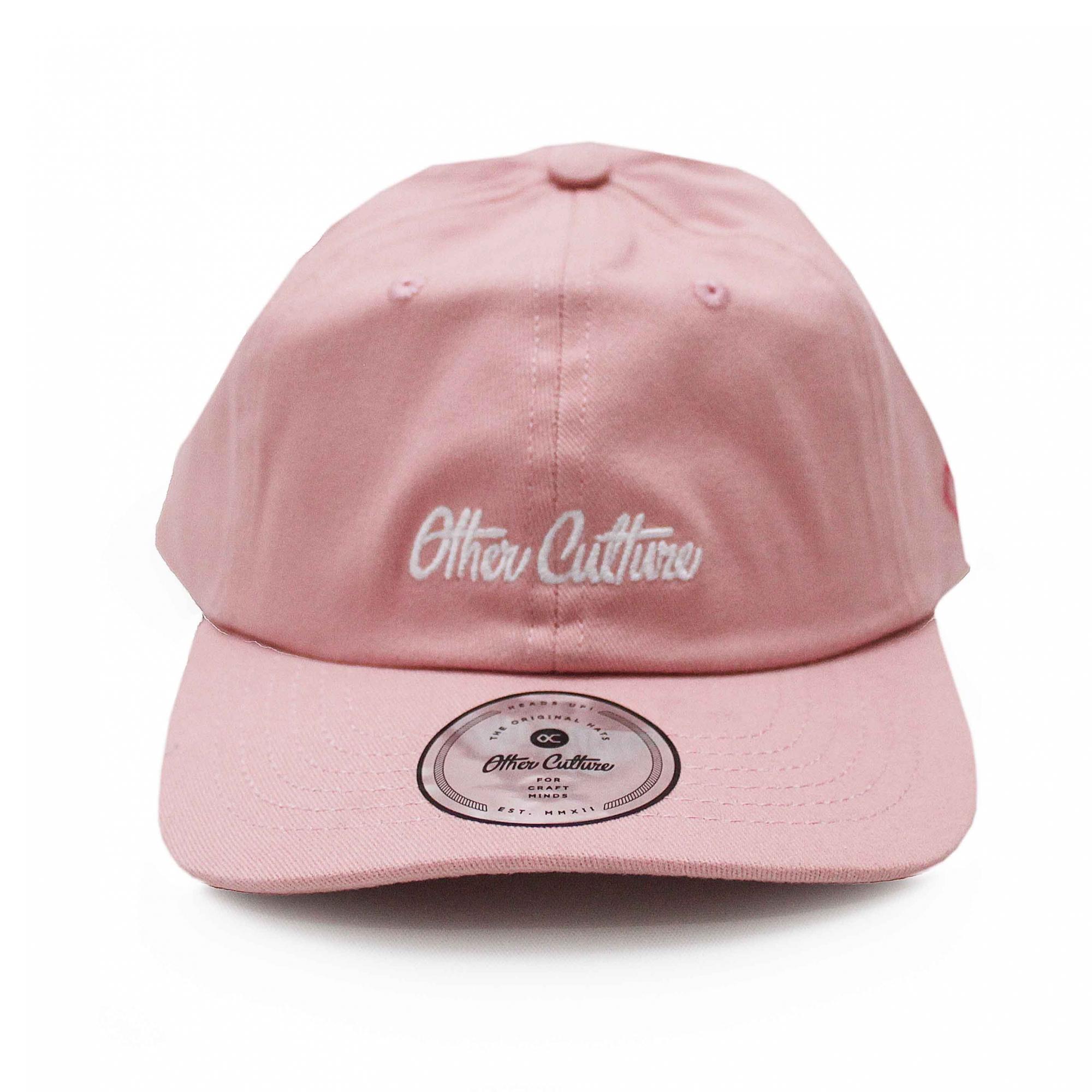 Boné Other Culture Dad Hat Basic Signature - Rosa Claro