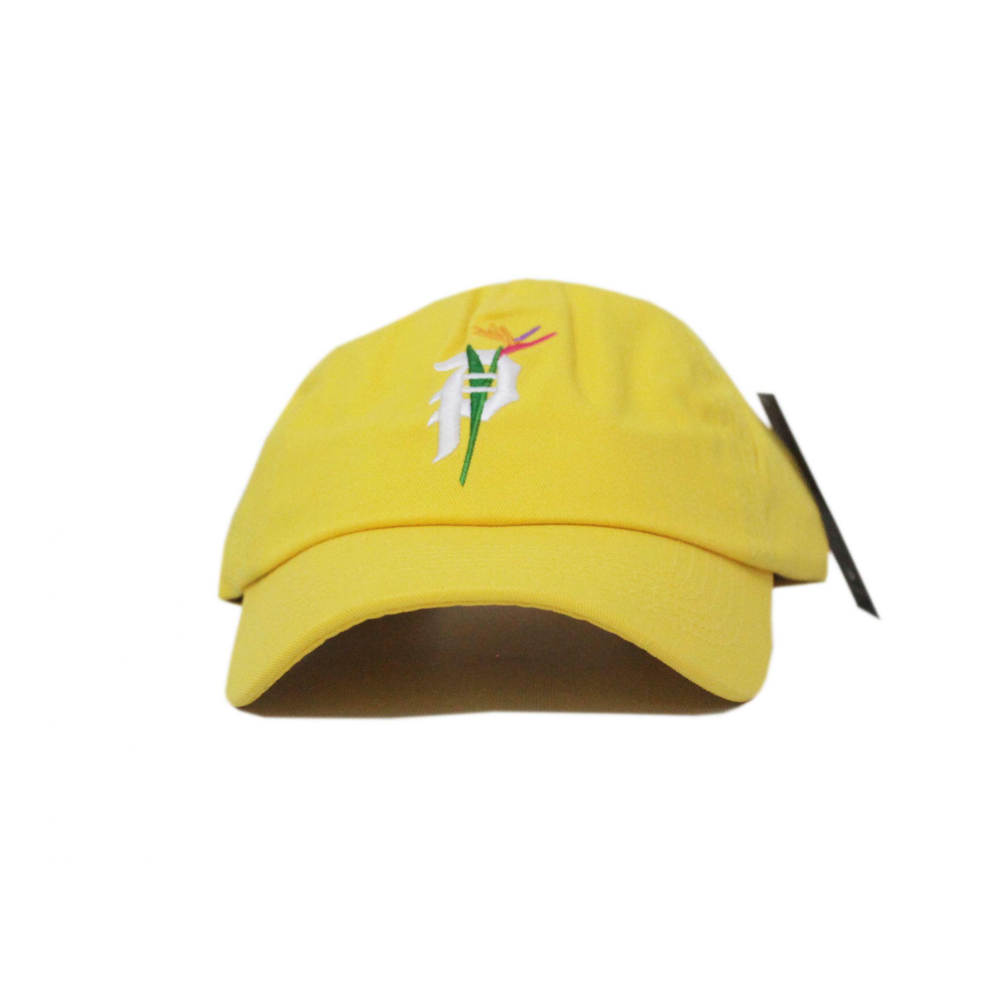 Boné Primitive Dad Hat Dirt P Paradise Amarelo Claro (Importado)