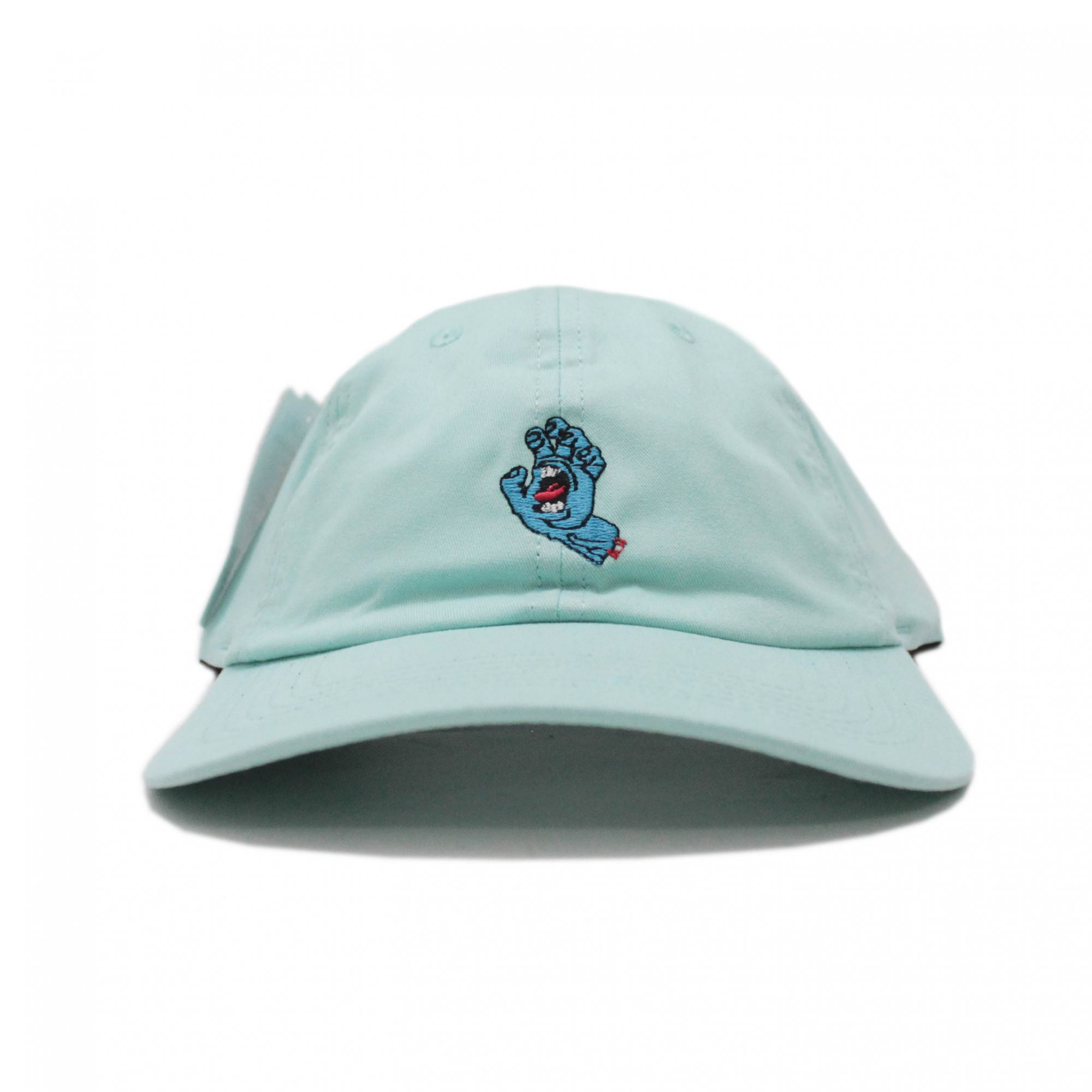 Boné Santa Cruz Dad Hat Screamin Hand Verde Claro