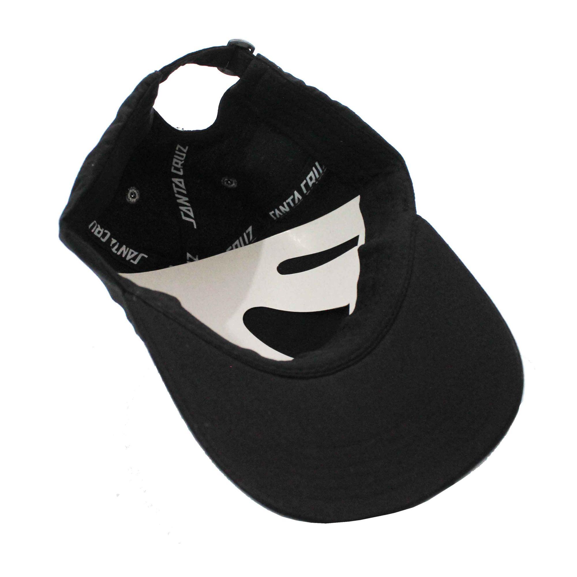 Boné Santa Cruz Dad Hat Screaming Hand Black