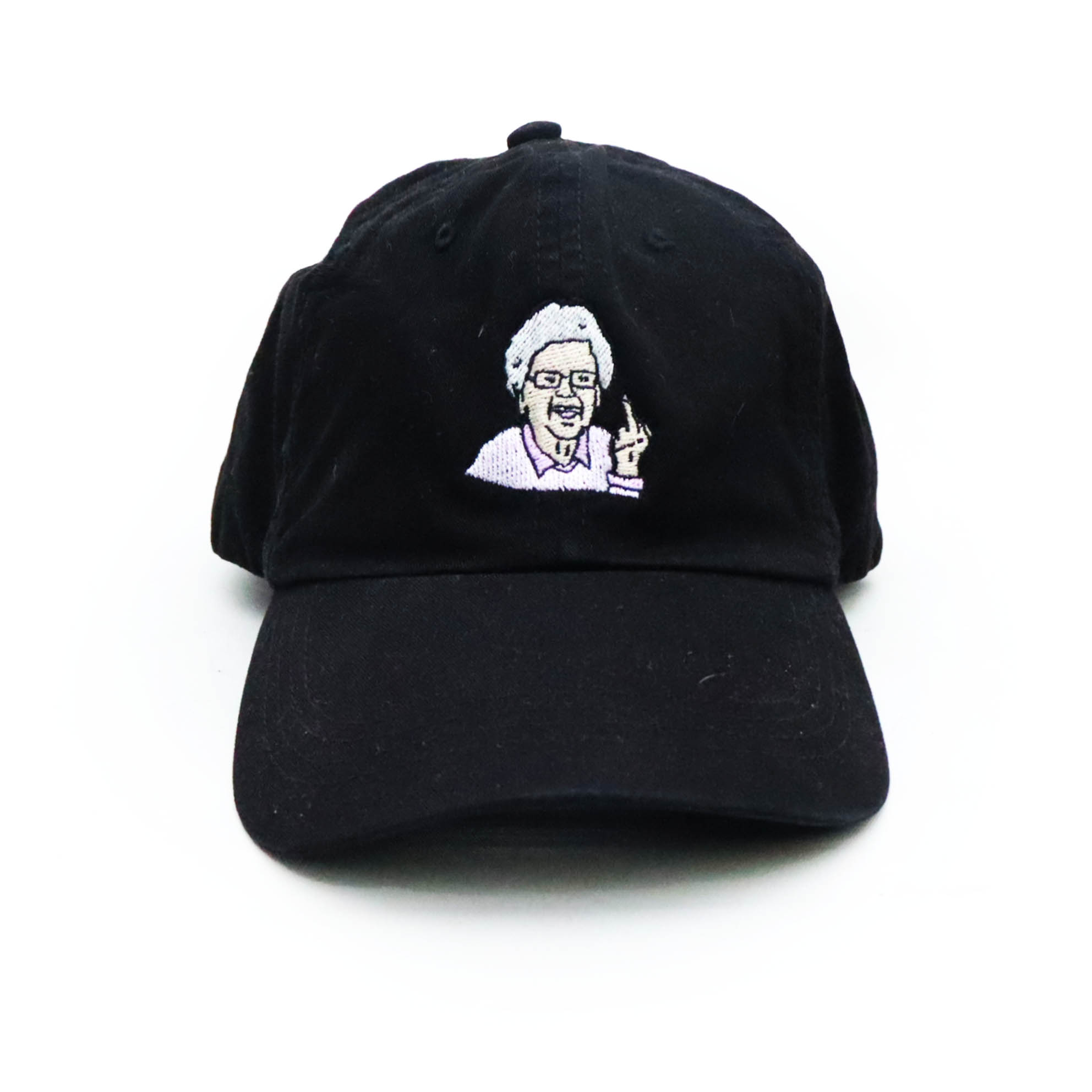 Boné Steezy Dad Hat Grandmother - Preto