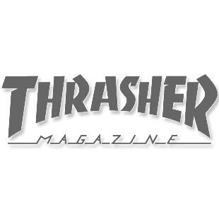 Boné Thrasher Magazine Trucker Mag Logo Black/Grey