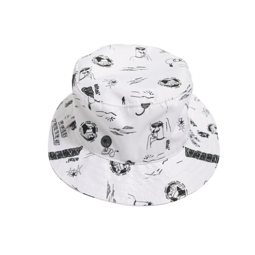 Bucket Altai Pattern - Branco