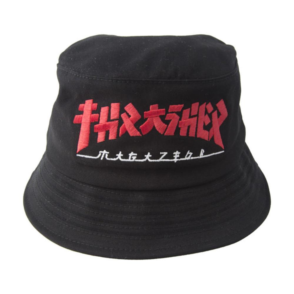 Bucket Thrasher Magazine Godzilla - Preto