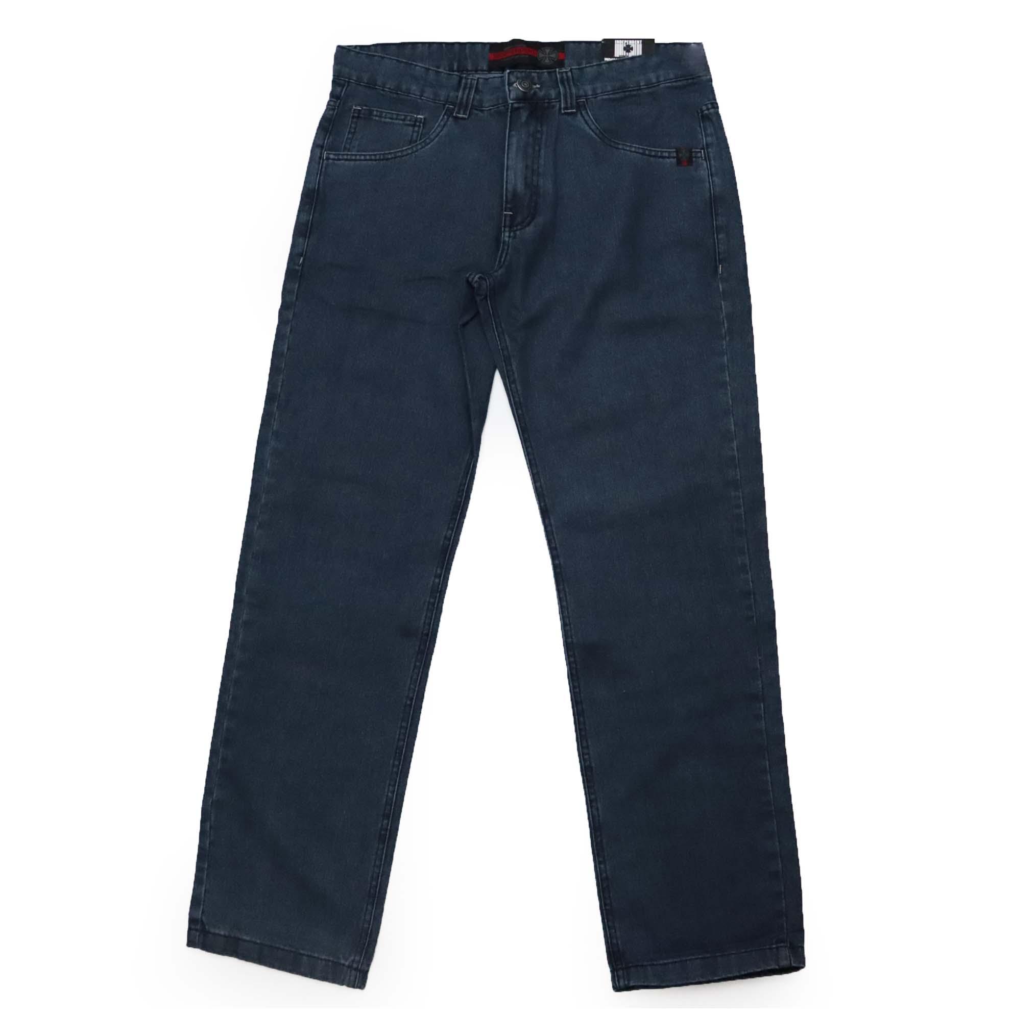 Calça Jeans Independent Tier Cross Denin - Azul Escuro