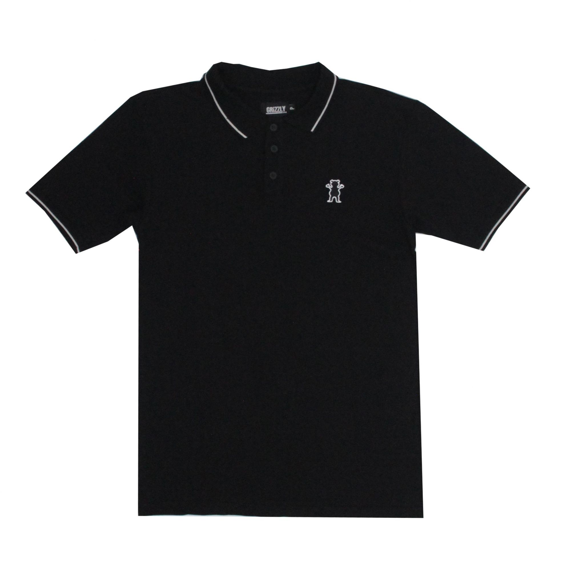 Camisa Grizzly Polo Bear - Preto