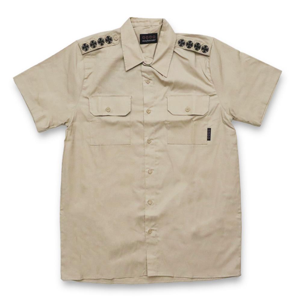 Camisa Independent Unsocial - Caqui