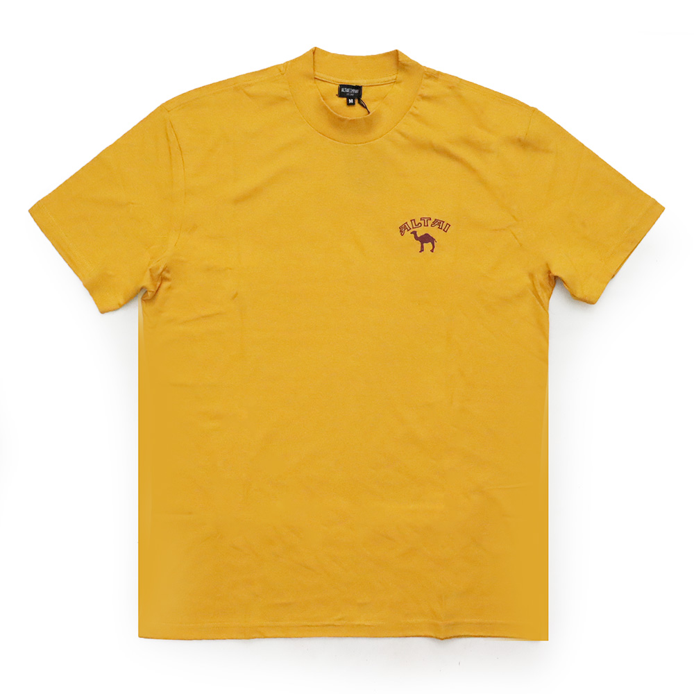Camiseta Altai Camelo - Amarelo Mostarda