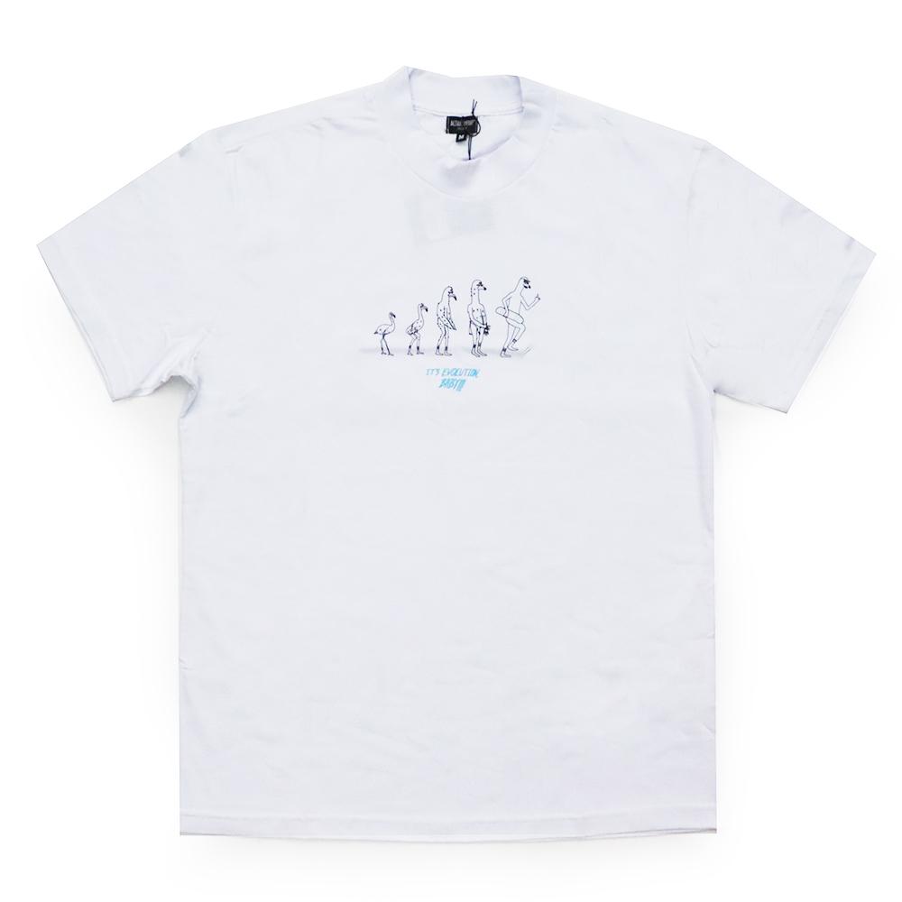 Camiseta Altai Evolução - Branco