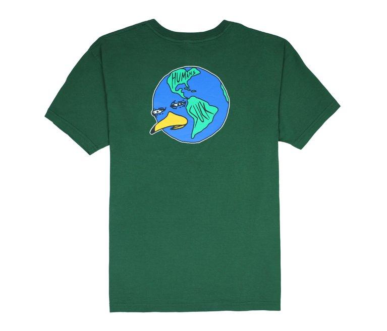 Camiseta Altai Human Sucks - Verde