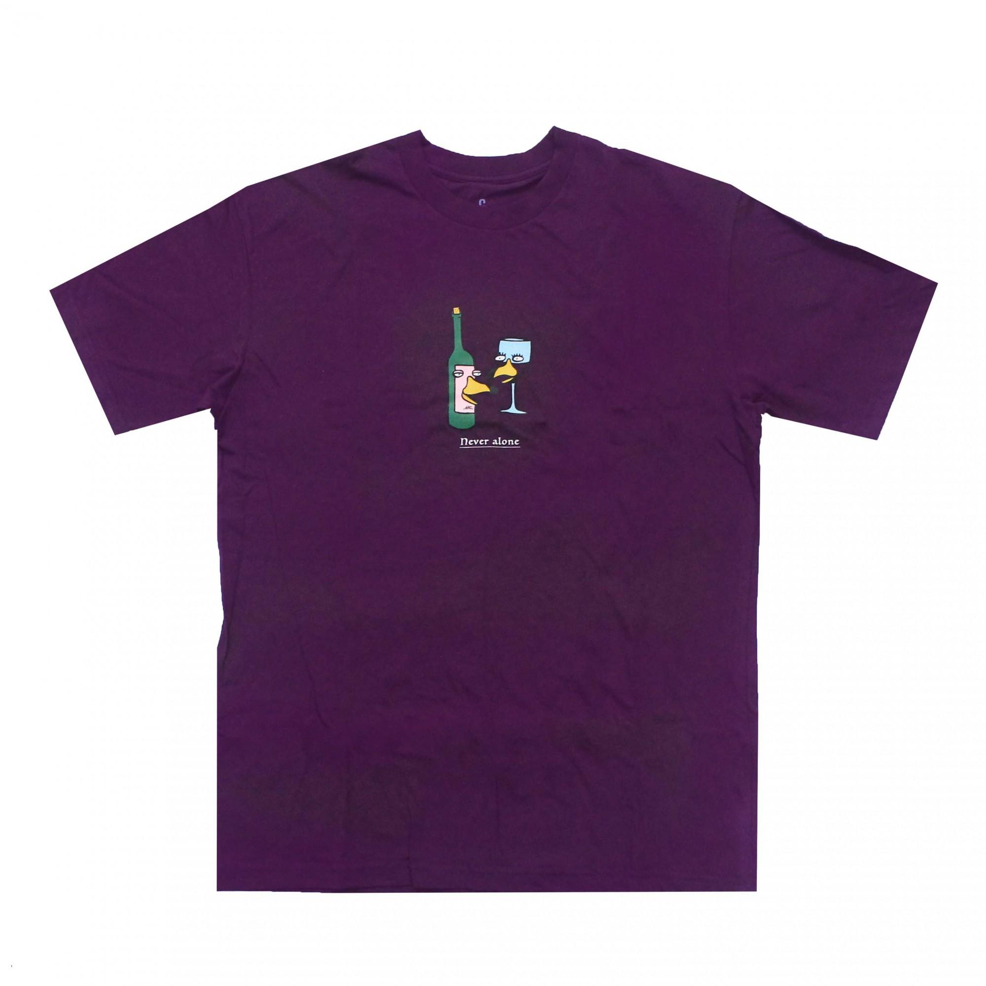 Camiseta Altai Never Alone Roxo