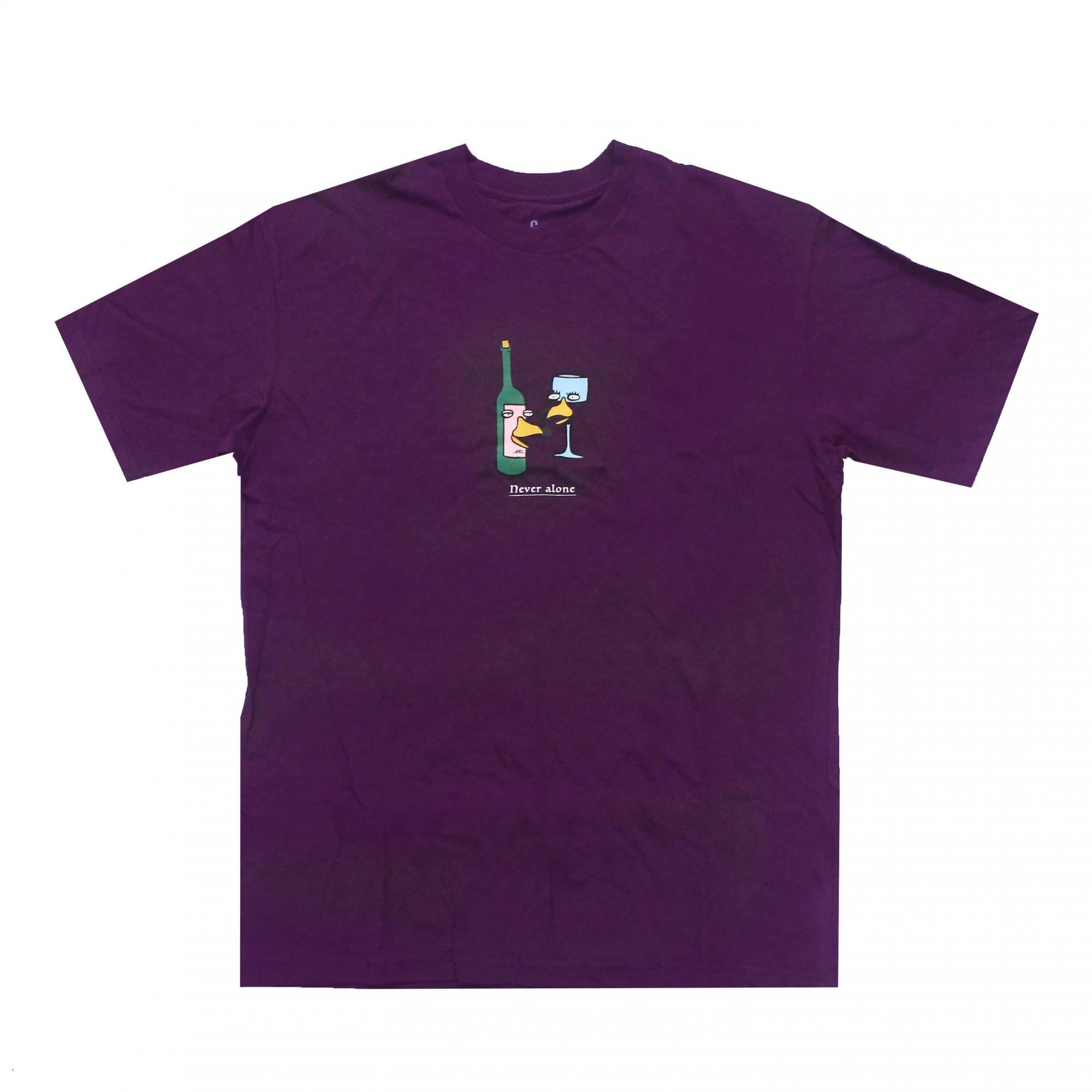 Camiseta Altai Never Alone - Roxo