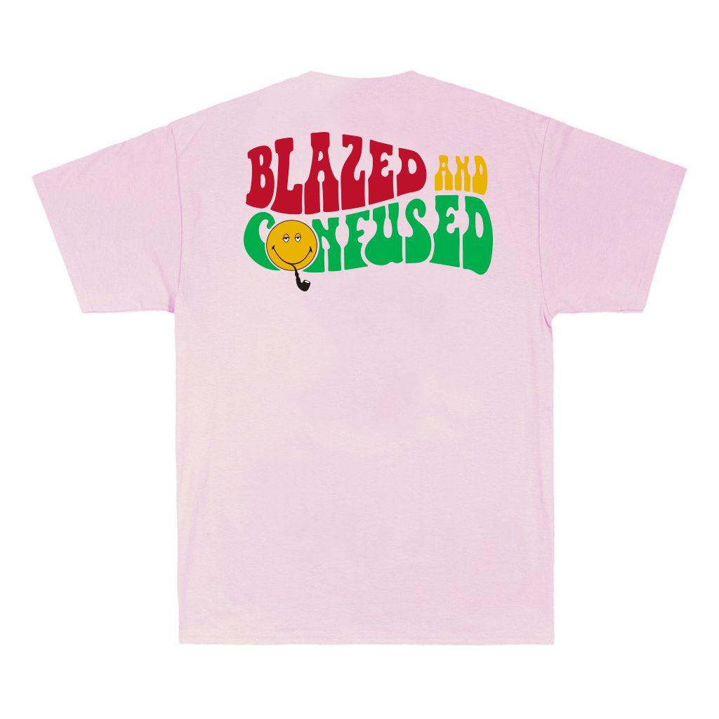 Camiseta Blaze B & Confused Rosa