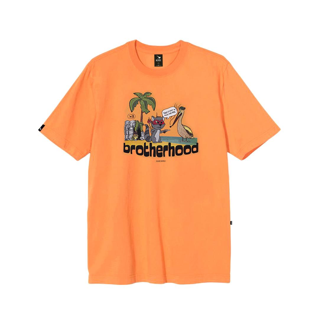 Camiseta Blaze Brotherhood - Laranja