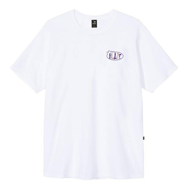 Camiseta Blaze Oval Box - Branco