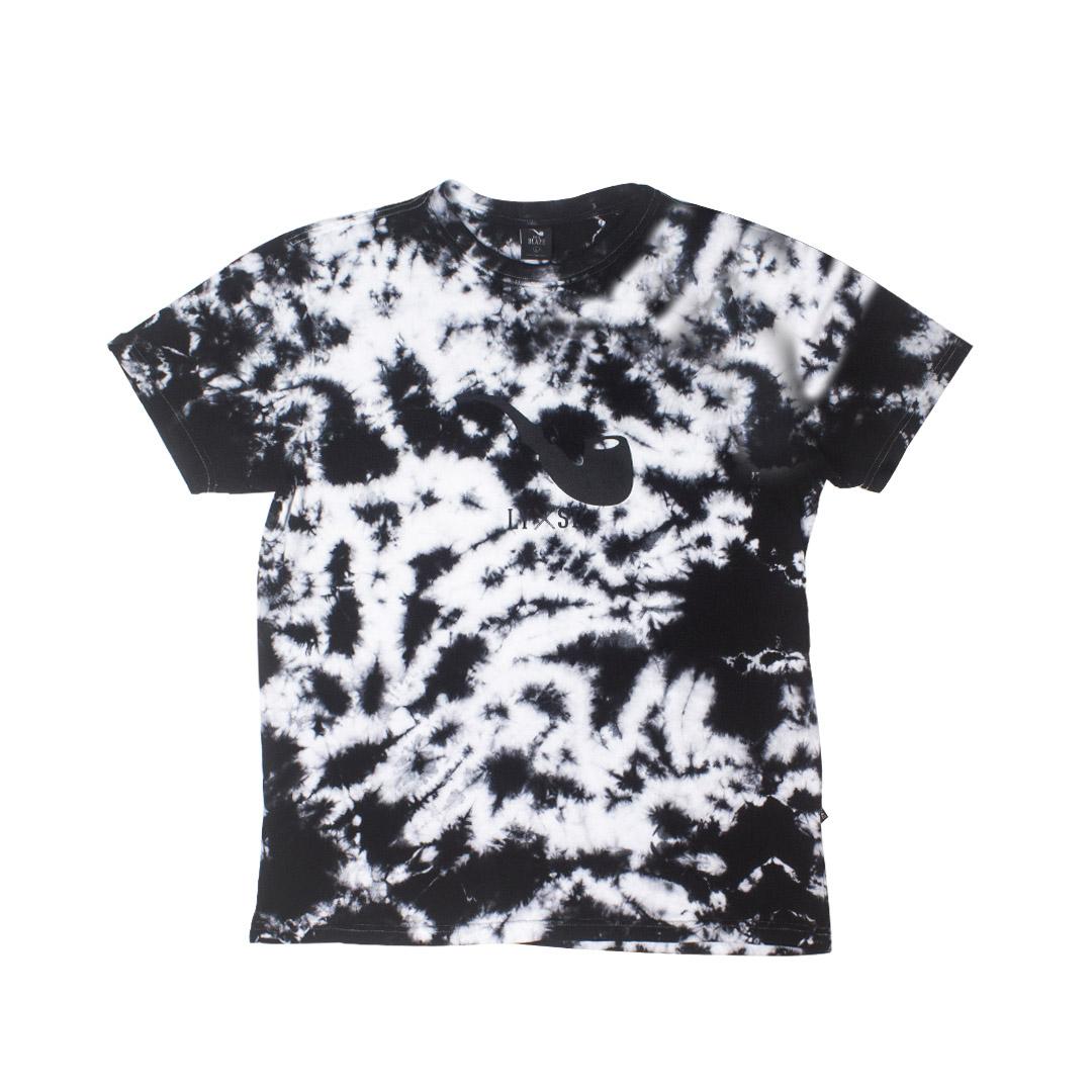 Camiseta Blaze Pipe - Tie Dye Preto/Branco