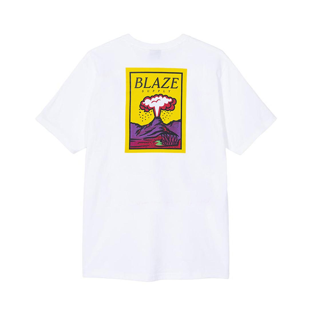 Camiseta Blaze Volcano - Branco