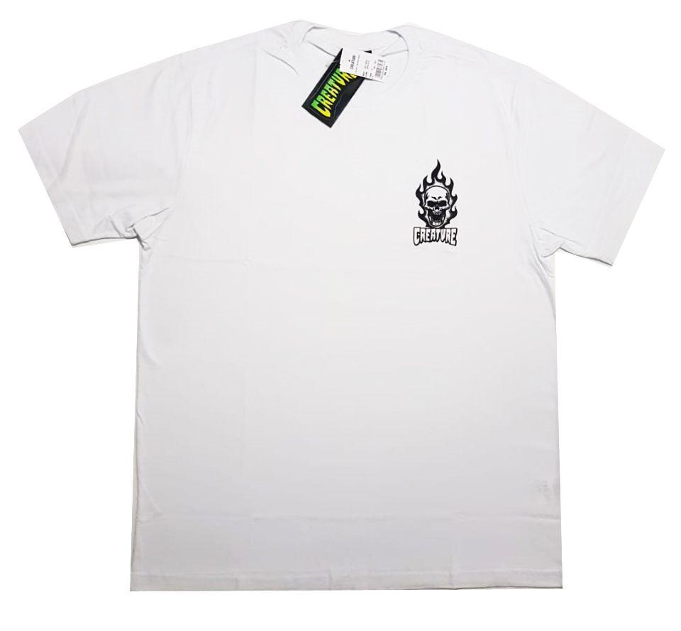 Camiseta Creature Bonehead White