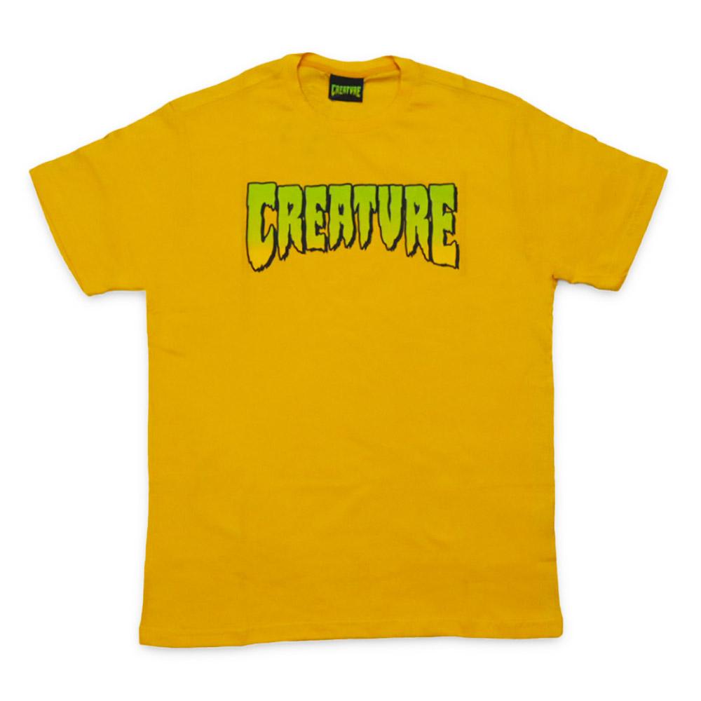 Camiseta Creature Classic Logo - Amarelo